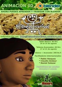 Historias Nativas Poster